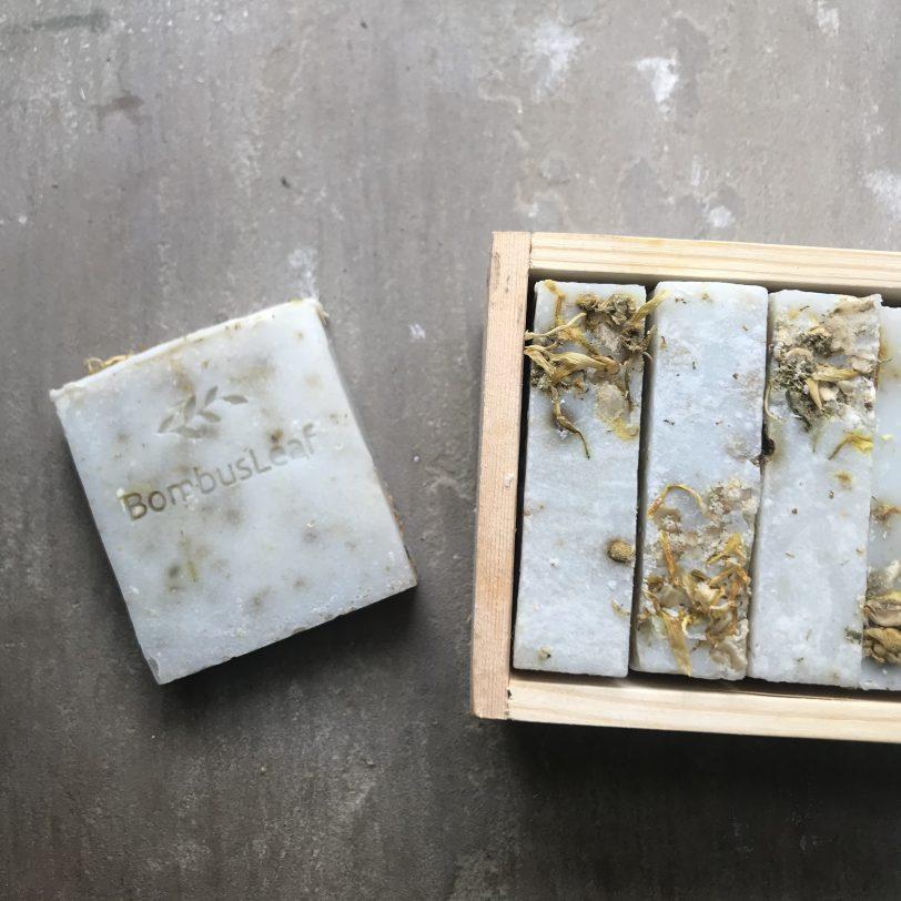 Oat, Chamomile & Calendula Hand & Body Soap Scrub
