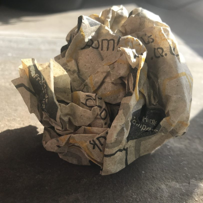 Beeswax Scrunched Firelighter