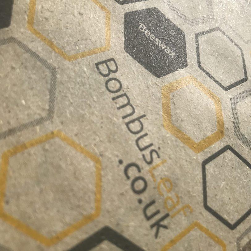 Beeswax Wrap website close up
