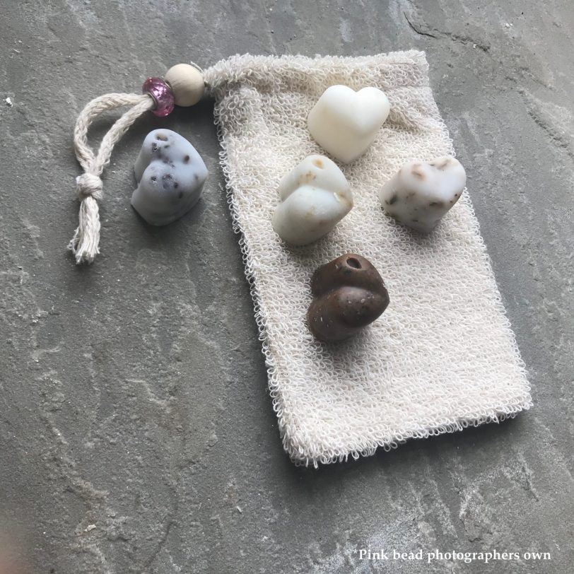 Sample Pack Hand and Body Soap Scrubs with Soap Pouch