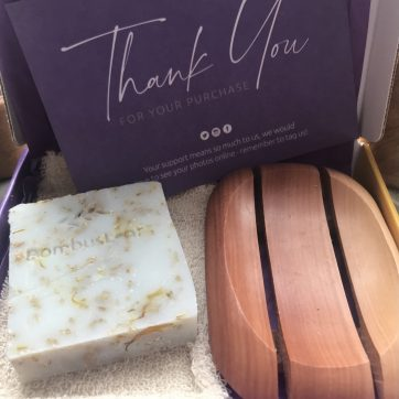 Hand and Body Soap Scrub Gift Set